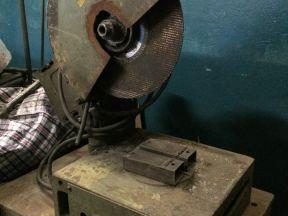 Пила отрезная по металлу 380V