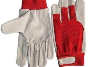 Перчатки кожаные комбинированые Tetu 202