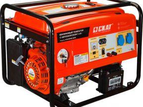 Бензиновый генератор со встроенным автозапуском