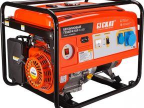 Надежный бензиновый генератор Skat угб-6000