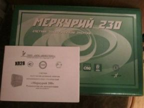 Электросчётчик Меркурий 230 ART 01 CN