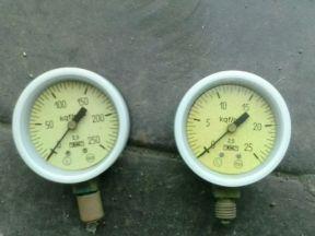 Манометры мтп-1М кислородные 25 и 250 кг/см