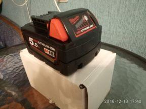 Аккумулятор Milwaukee 18 V 5 ампер