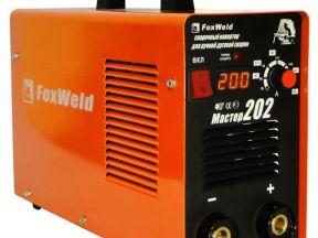 Сварочный аппарат инверт FoxWeld Мастер 202 новый