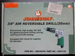Дрель пневматическая jonnesway JAD-6234A