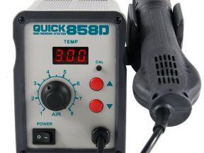 Термовоздушная паяльная станция Quick858D