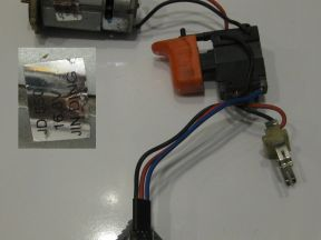 Кнопка, двигатель для Bort и зарядка Bort