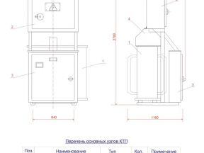 Трансформаторая подстанция ктп/ктпм-160 ква
