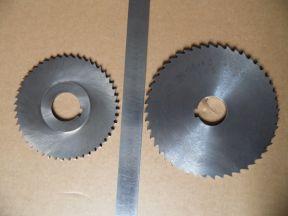Фрезы дисковые 100*2,5 и 250*4,0
