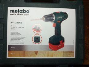 Кейс Metabo BS 12