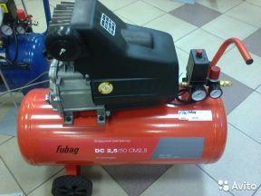 Поршневой масляный компрессор Fubag DC 2.5/50 CM2
