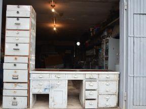 Верстак Слесарный + Шкаф с ящиками