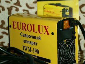 Сварочный аппарат инвертор Ресанта - Eurolux IWM19