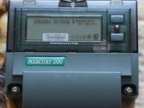 Счетчик электроэнергии меркурий 200.02