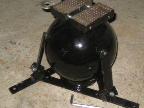 Шрабкугель (ювелирные тиски) 180 мм высотой