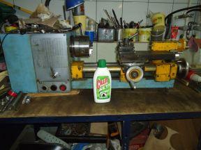 Компактный гаражный токарный станок
