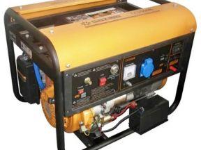 Газовый генератор с авр и электростартером