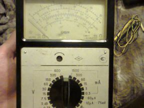Комбинированный прибор Ц4314 (Тестер)