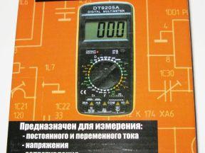 Мультиметр Ресанта TEK DT9205A