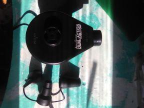 Насос воздуха электрический 220В с насадками