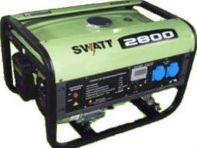 Бензиновый генератор swatt 2800