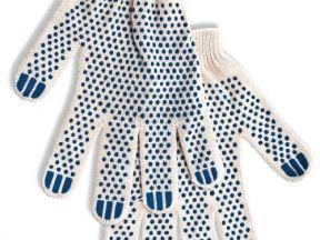 Перчатки с пвх 5 нити