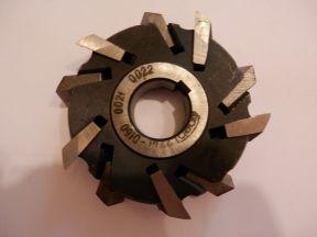 Фреза дисковая 3-х сторонняя 100х22, 125х25 Россия