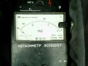 Мегаомметр эсо202/2Г