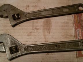 Ключ разводной, газовый, рожковый, комбинированный