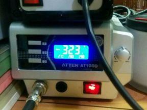 Паяльная станция Atten AT 100D