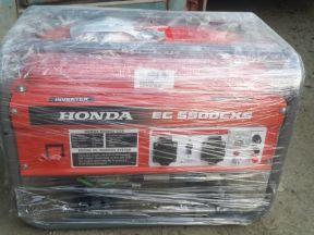 Новый бензогенератор Хонда EG 5500 CXS