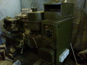 Военный бензогенератор 220-380 4 квт