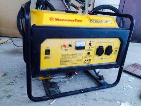 Генератор бензиновый hammer Флекс Хаммер 5.5 кВт