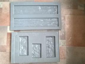 Формы для изготовления декоративного камня,кирпича