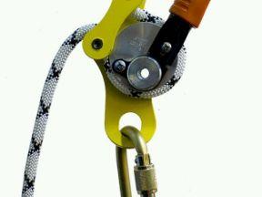 Спусковое устройство для промышленного альпинизма