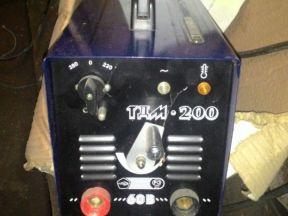 Сварочный аппарат тдм 200