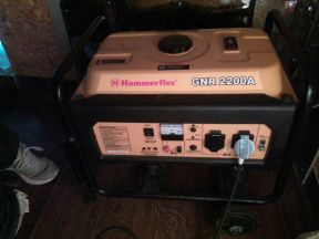 Бензиновый генератор hammer GNR2200A