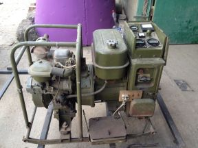 Электростанция, армейский генератор аб-2-Т/230-М2