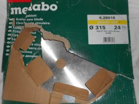 Диск пильный metabo 315мм, новый