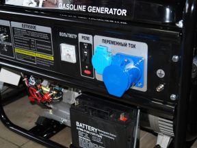 Генератор бензиновый 6.5 kVt EST 8500E