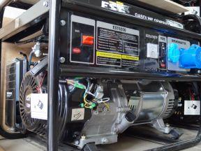 Генератор бензиновый 5кВт EST 6500E