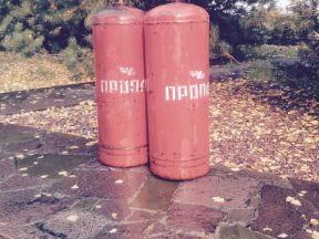 2 газовых баллона по 50 литров