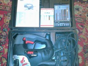 Электрический лобзик с контейнером skil4585 jigsaw