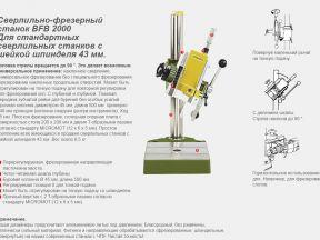 Новая Сверлильно-фрезерная станина Proxxon BFB2000