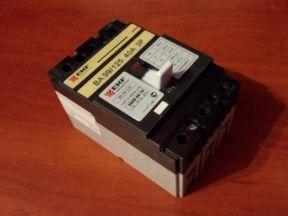 Автоматический выключатель BA 99/125 40А (EKF)