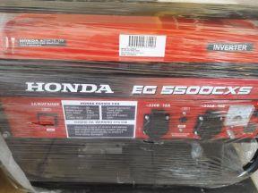 Электрогенератор бензиновый Хонда 5.5 кВт