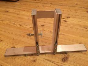 Лапы подставки для установки двери