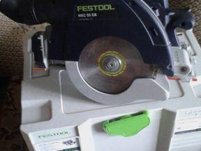 Аккумуляторную дисковую пилу HKC 55 Festool