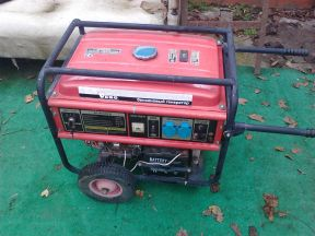 бензиновый генератор redverg RD-8000EB