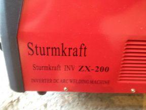 Сварочный инвертор Sturmkraft INV ZX-200